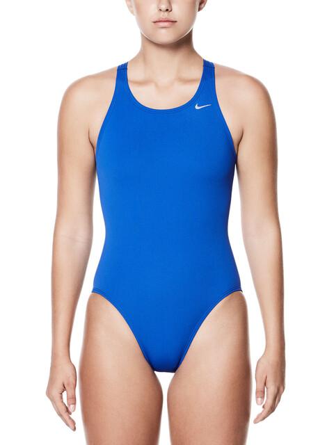 Nike Swim Poly Core Solid Fast Back Tank Women Game Royal